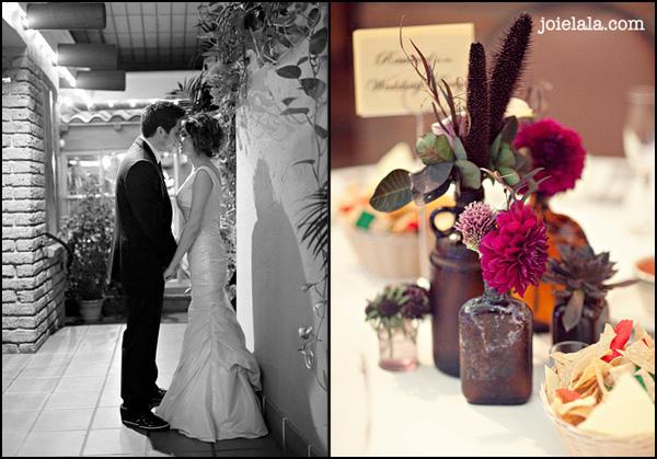 wedding flowers, krista jon couture designs